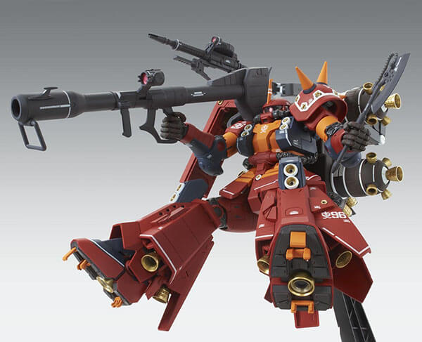 "MG 1/100 MG FA-78 高機動型薩克""腦波傳導型薩克""Ver.Ka(雷霆宙域戰線動畫配色Ver.)"