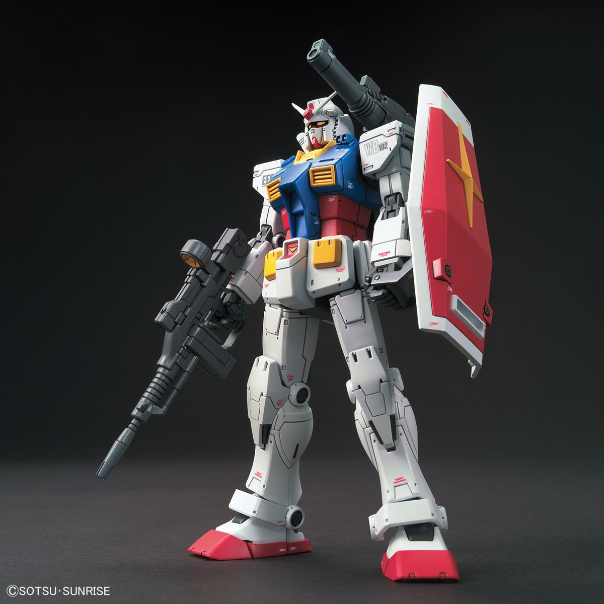 HG 1/144 RX-78-02 鋼彈 (GUNDAM THE ORIGIN Ver.)