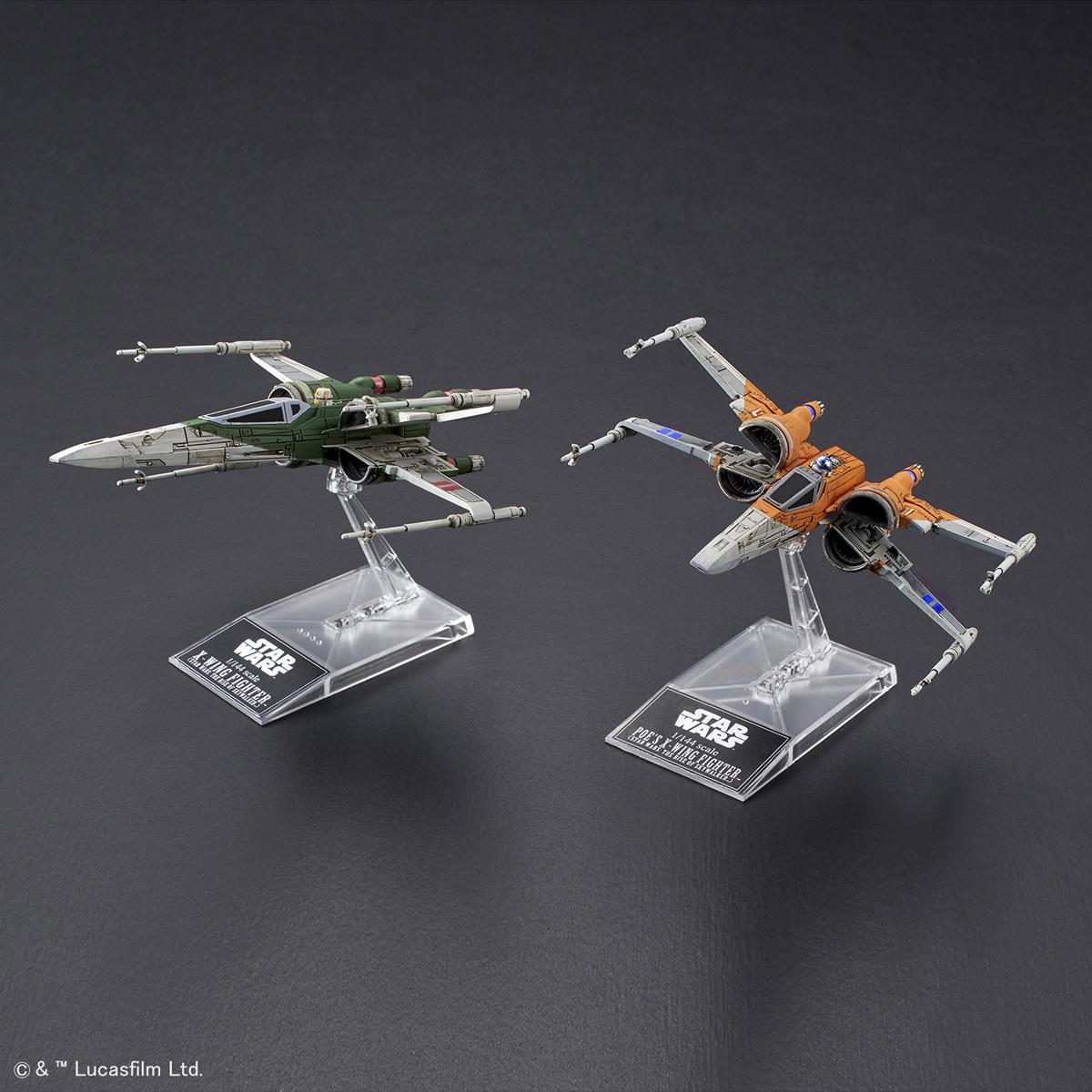1/144 X翼戰機 波・戴姆倫座機 & X翼戰機《STAR WARS:天行者的崛起》