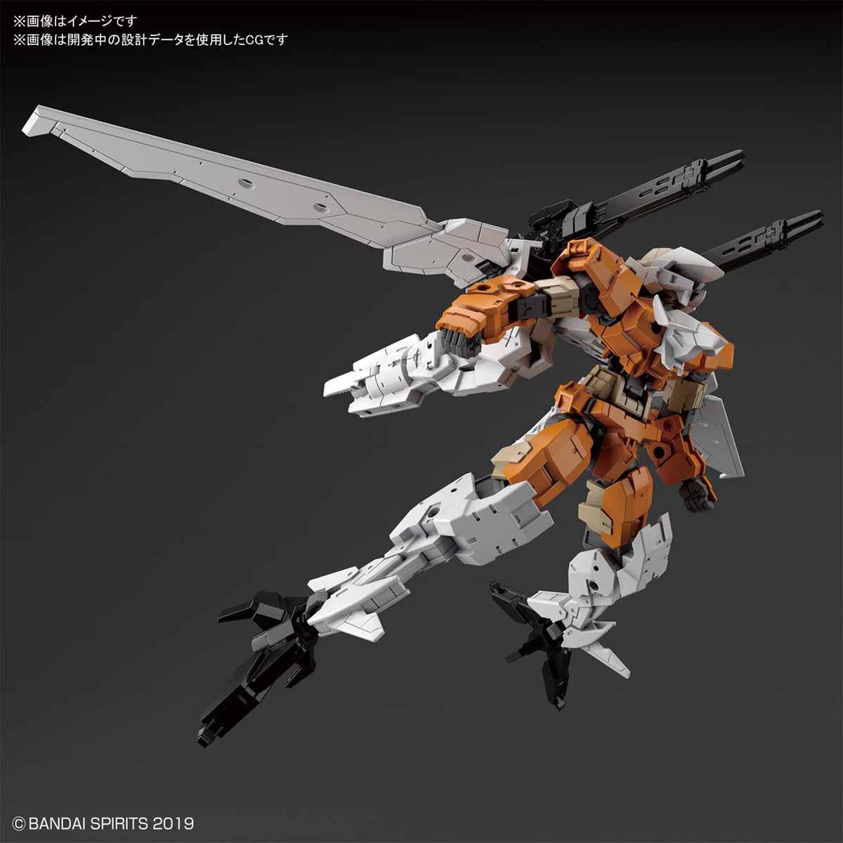 30MM 1/144 eEXM-17 阿爾托 (空戰型) [橙色]