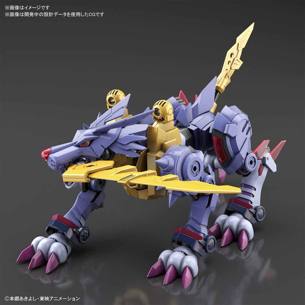 Figure-rise Standard 鋼鐵加魯魯獸(增幅版)