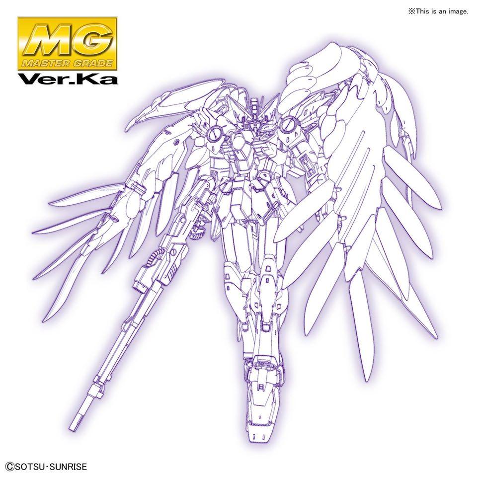 MG 1/100 飛翼鋼彈零式EW Ver.Ka
