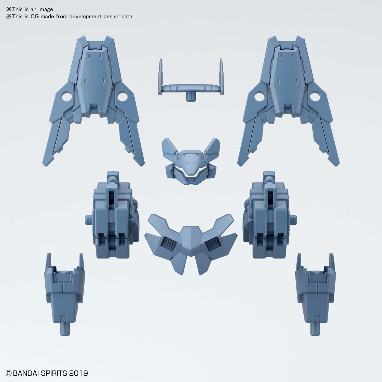 30MM 1/144 指揮官機用選配式裝甲 [歇爾諾瓦用 / 藍灰色]