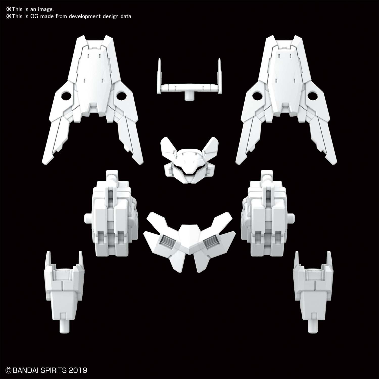 30MM 1/144 指揮官機用選配式裝甲 [歇爾諾瓦用 / 白色]
