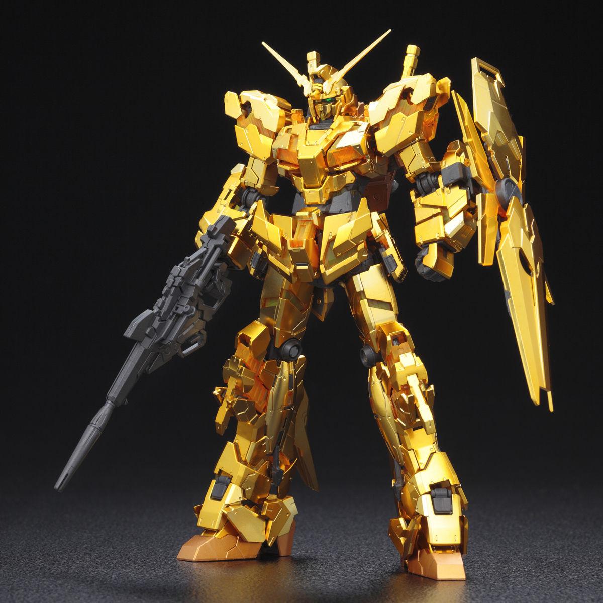 RG 1/144 獨角獸鋼彈[金色鍍膜] TGB限定