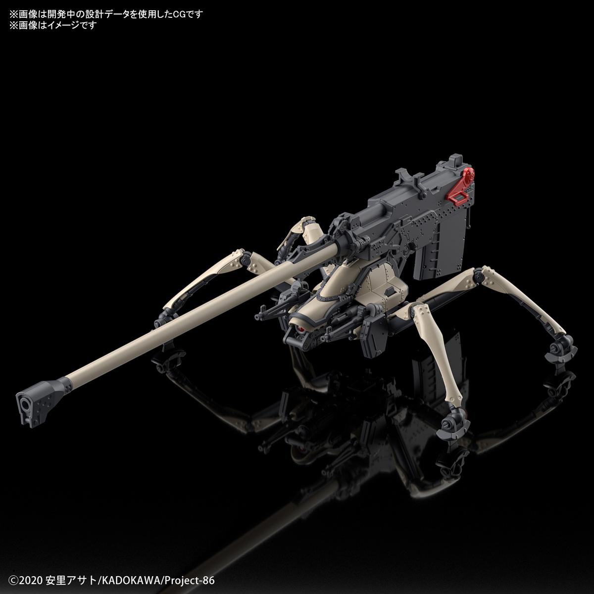 HG 1/48 破壞神 (長距離砲擊型)