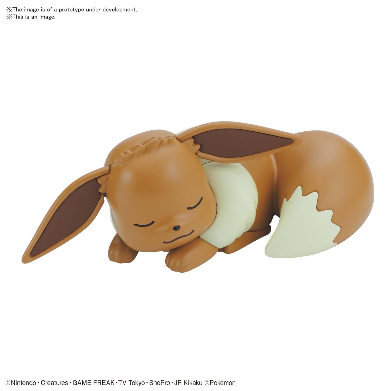 Pokémon PLAMO 收藏集 快組版!! 07 伊布 (睡眠造型)